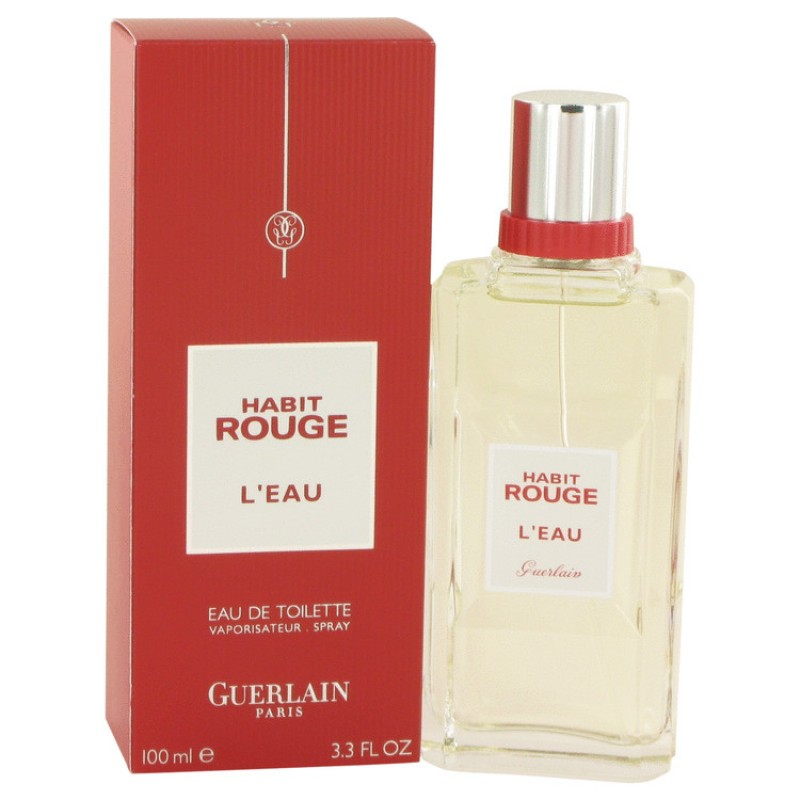 guerlain habit rouge l 39 eau 100 ml edt. Black Bedroom Furniture Sets. Home Design Ideas