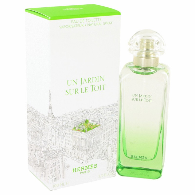 hermes un jardin sur le toit 100 ml edt. Black Bedroom Furniture Sets. Home Design Ideas